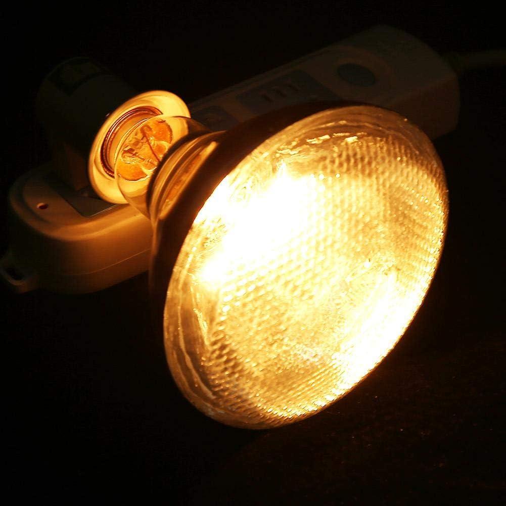1pc Porcinet Lampe de Chaleur /épaisse pour Chaleur Anti-d/éflagrant /étanche Semme Lampe de Chaleur pour porcelet /épaisse de Porc 150W