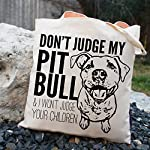 Don't Judge My Dog Tote Bag by Pet Studio Art 10