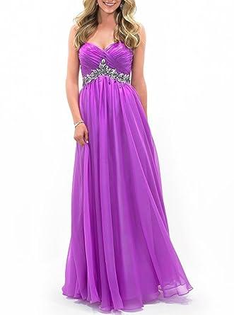 Amazon.com: MIGUOO 2014 Juniors Prom Dresses Plus Size Full ...