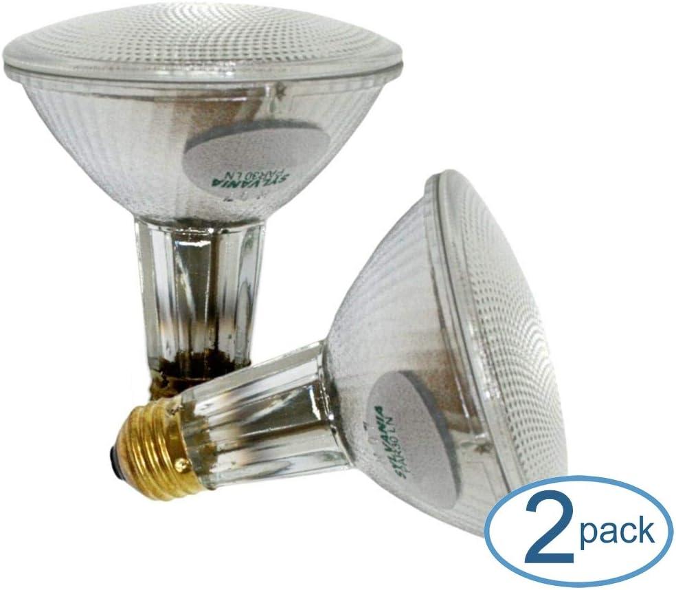 Osram Sylvania 16168-60 Watt PAR30 Wide Flood Reflector Light Bulb