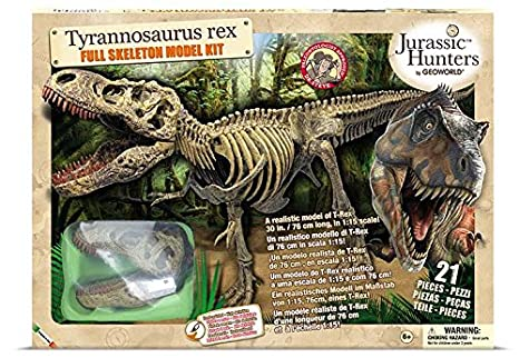 56945bfa19e Amazon.com  Geoworld Jurassic Hunters – CL664 K T-Rex Paleo ...