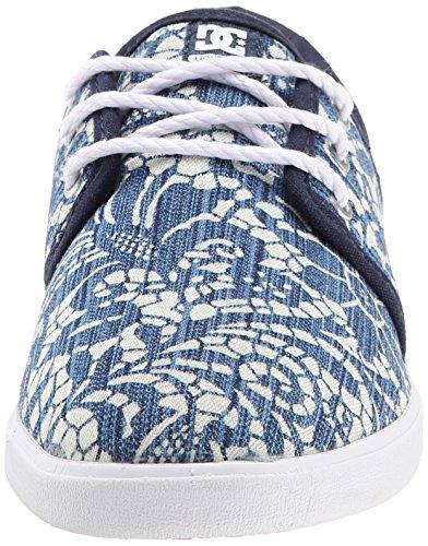 Dc Damen Slip On Schuhe Haven Tx Special Edition Denim (37 Eu / 6 Us , Dunkelblau)
