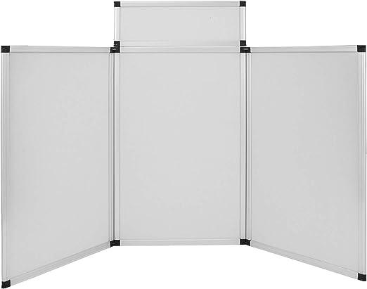 Banana B DJ Event Facade 4 Panel plegable de pared 45 x 110 cm negro y blanco pantalla de DJ con licra extraíble y panel, 180x111 cm/Aluminiumlegierung: Amazon.es: Instrumentos musicales