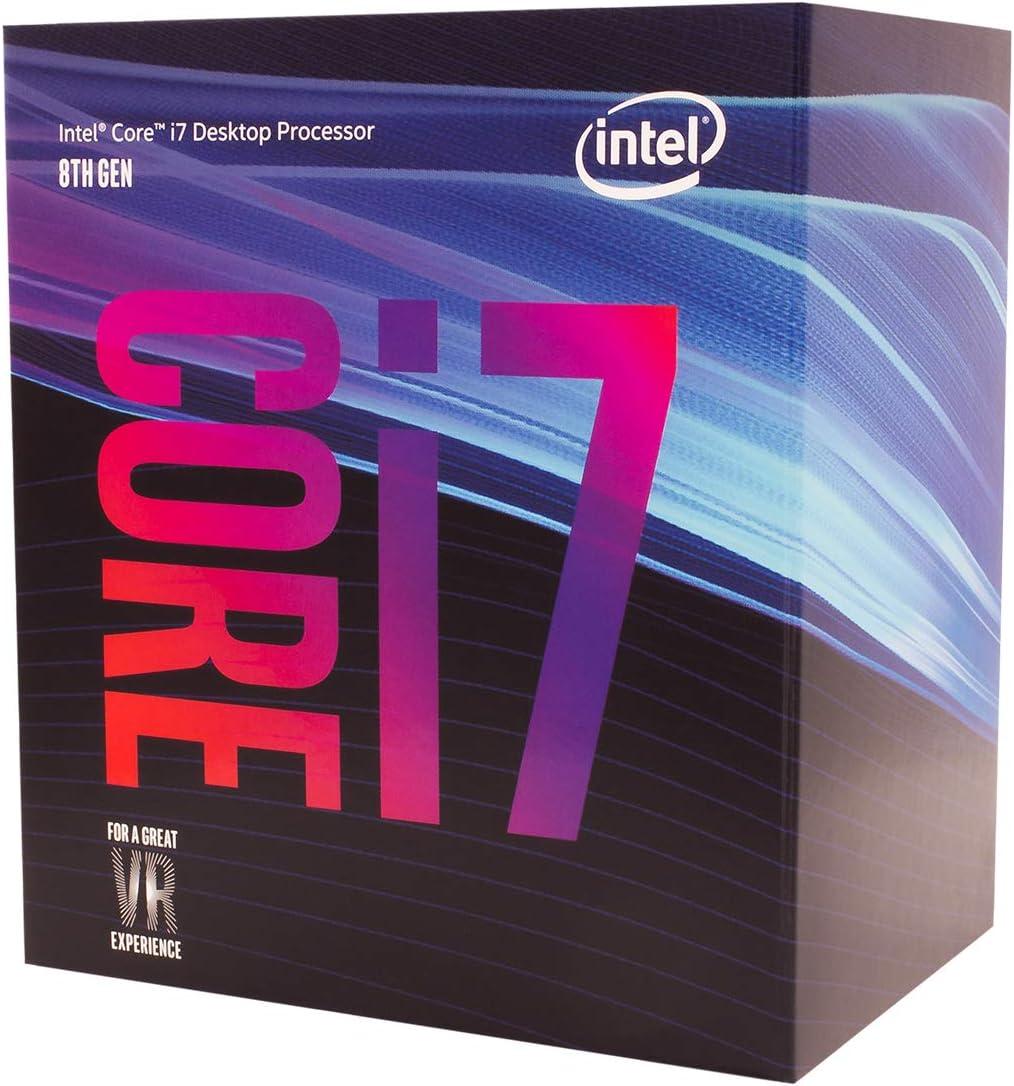 Intel Core i7-8700 Smart Cache - Procesador hasta 4.60 GHz, 8ª ...
