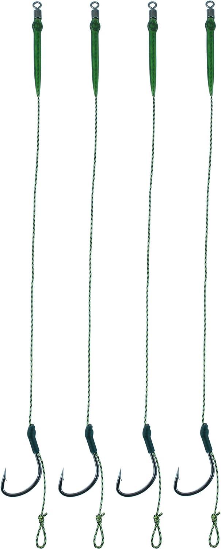 Storfisk fishing /& more Boilie-Rig Karpfen Vorfach 20 cm Vorfach Verschiedene Hakengr/ö/ßen