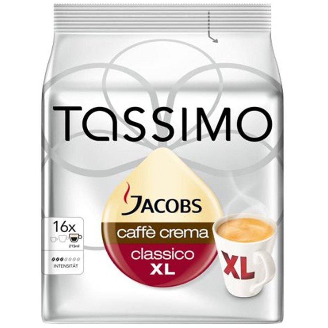 Amazon.com: Bosch Tassimo Jacobs Caffe Crema Classico XL ...