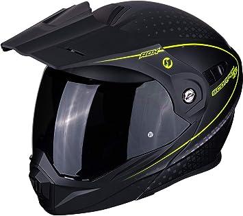 Scorpion Unisex Erwachsene Nc Motorrad Helm Schwarz L Auto