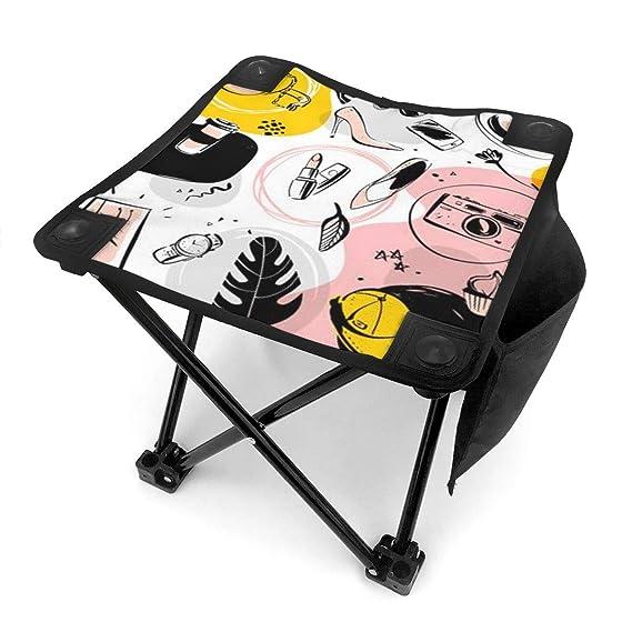 Mini Folding Camping Stool Fishing Chair Fashion Shopping Women ...