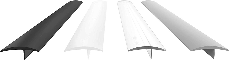 "Gap Stopper Pro - 25"" Black, Professional Grade, FDA Heavy 10.0 oz Silicone, Set of 2, Covers Gap between Stove & Countertops"