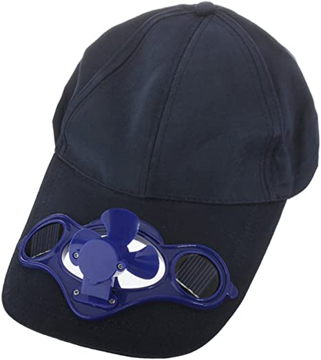 Circunferencia m/ínima de la Cabeza: Aprox Color Negro 20 Pulgadas // 50,8 cm Azul o Aleatorio Yi Go Gorra de b/éisbol Unisex Youth con energ/ía Solar