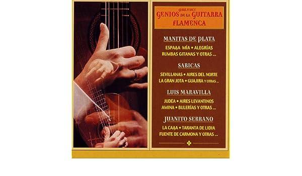Grandes Genios de la Guitarra Flamenca de Various artists en ...
