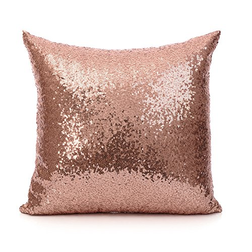 18 Inch 45 cm Europe Luxurious Sequin Pillow Cushion Cover P