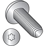 #2-28 Thread Size Pan Head Passivated Finish Pack of 100 1//4 Length 1//4 Length 18-8 Stainless Steel Thread Rolling Screw for Plastic Small Parts 0204LTP188 Star Drive Pack of 100