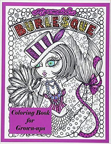 Amazon.com: Burlesque Mermaids Coloring Book (9781539723615 ...