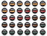 30 Count - Lavazza K-Cup Variety Pack Sampler - For Keurig K-Cup Brewers