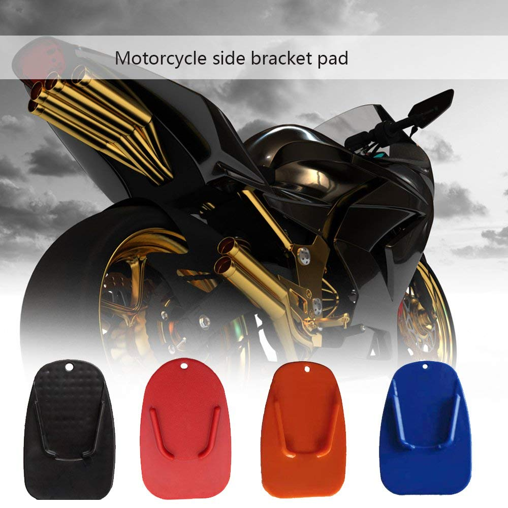 Bright Color Design Motorcycle Kickstand Side Stand Plate Pad Base for Yamaha