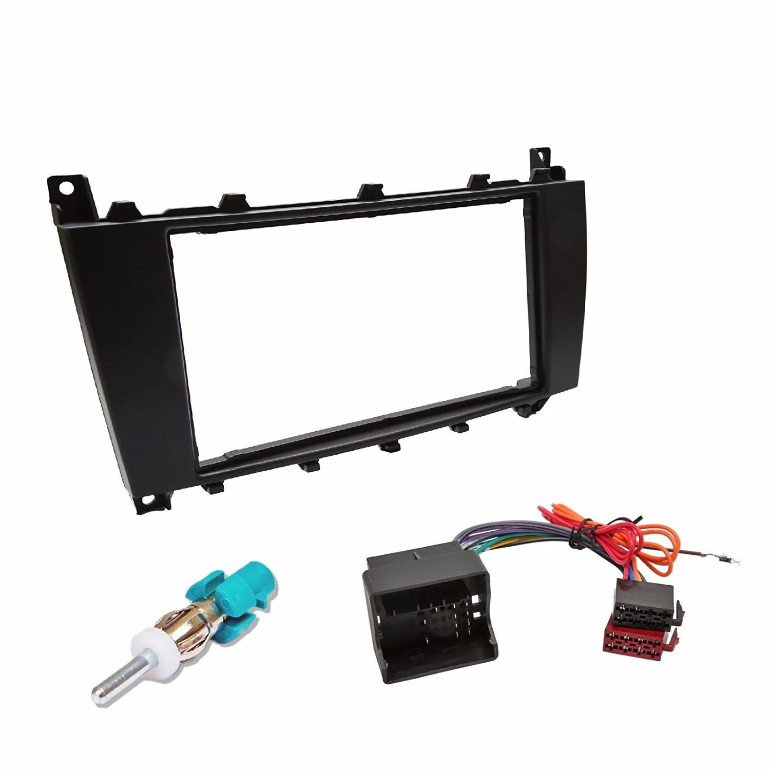 Inex Mercedes Double DIN Car CD Facia Fascia Fitting Kit Audio Stereo Adapter Plate