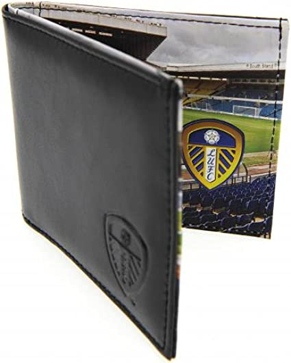Official Leeds United FC Leather Panoramic Wallet