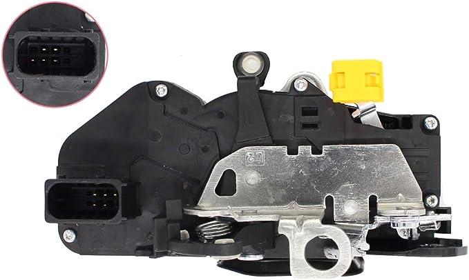 Left Side Dasbecan Front Left Door Lock Actuator Compatible with Chevrolet 2000-2007 Cadillac 2002-2006 Door Lock Latch Front Driver Side 15068499 15053681 931-318