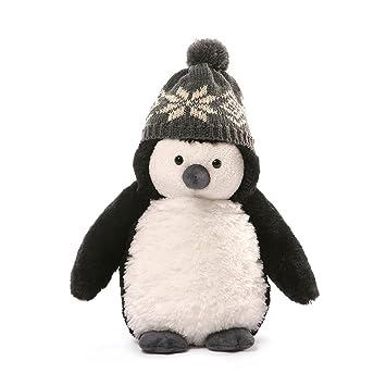 Amazon Com Gund Christmas Puffers Penguin Plush 10 Small Toys