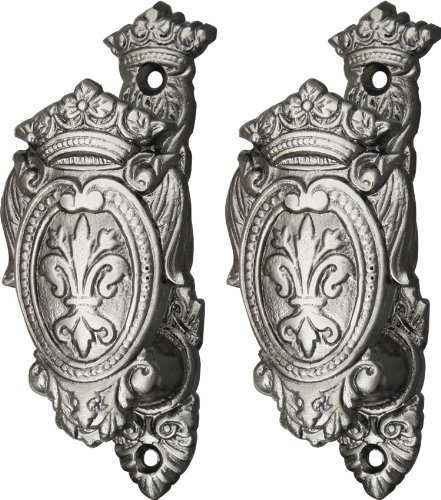 Vertical Fleur Sword Hangers