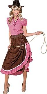 99b3141fa819 Orlob Damen Kostüm Cowgirl Western Rock gerafft Karneval Fasching Gr.40 42