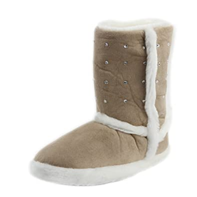 Women's Warm Winter Indoor Slipper Boots House