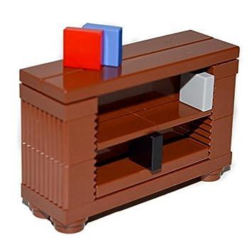 Amazon Com Lego Furniture Brown Book Shelf Case Professional