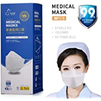 Well Over N95 KF94 KN95 FFP2 FFP3 ma-sk 3-layer Protection PPE 99% Filtration with ISO CE BFE PFE Report 30PCS Nishore