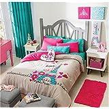 NEW Paris Teens Reversible Comforter Set Ind/Twin