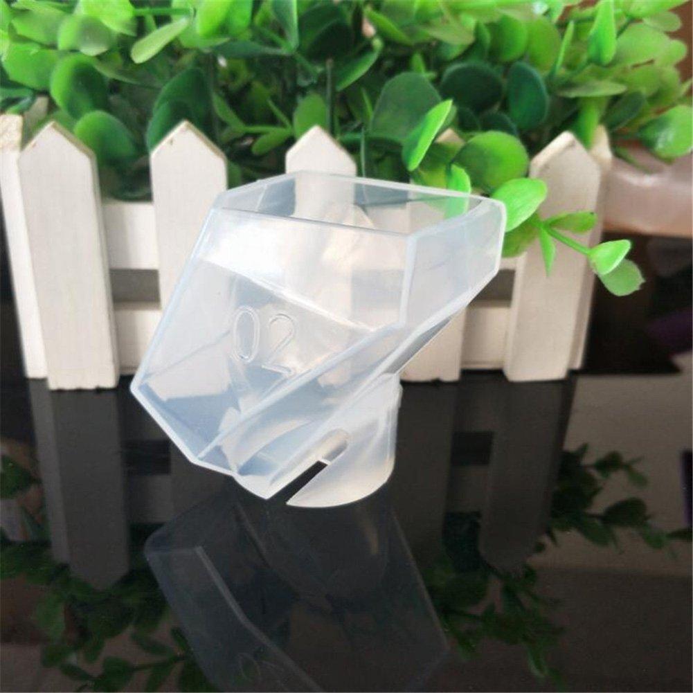 wuudi cristallo silicone Mold Mold, decorazione fornitura di taglio cristallo silicone decorazione accessori Liquid Silicone grandi dimensioni, Silicone, As Shown, 61 * 54 * 48mm