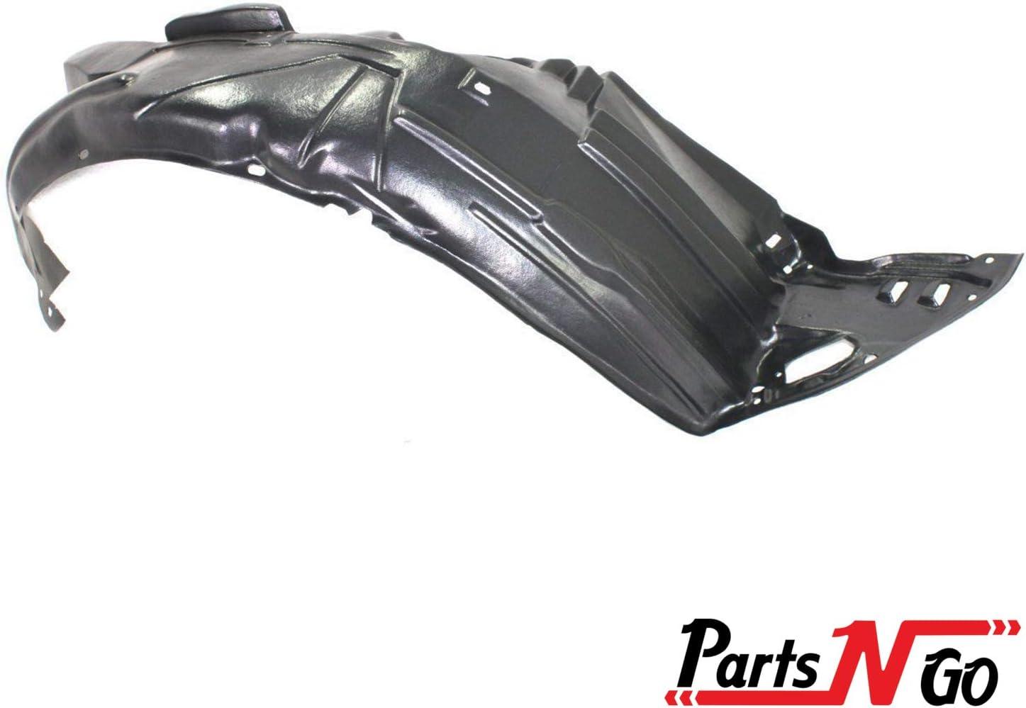 74101TBAA00 Parts N Go 2006-2017 Compatible Honda Civic Fender Liner Passenger Side RH Splash Guard HO1249158