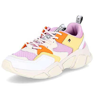 Tommy Hilfiger Chunky Mixed Femme Baskets Mode Multicolore