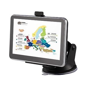 Navegador GPS, LESHP sistema de navegación GPS de coche, 5 ...