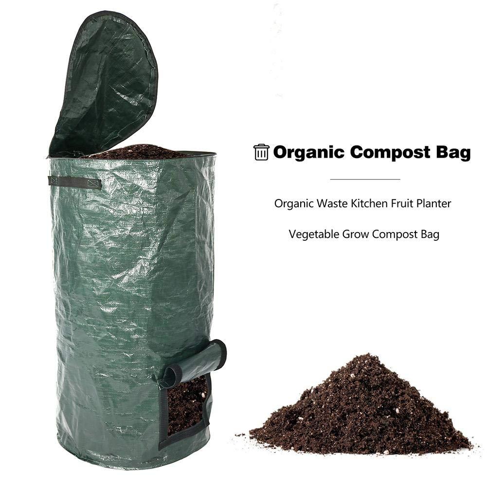 JUNERAIN Bolsa de Compost de Verduras de Cultivo orgánico de ...