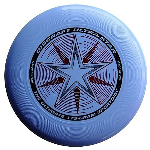 (Discraft 175 gram Ultra Star Sport Disc, Light Blue)