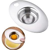 Egg Separator,ShowTop Premium 304 Stainless Steel Egg Yolk White Filter Dishwasher Safe Kitchen Tool for Baking Cake…