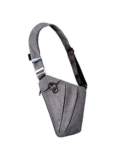 8d16d6a0a3 Padieoe Sac de poitrine saco homme Sac Bandoulière sac besace sac femme  bandouliere Sac à dos