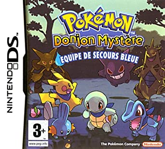 pokemon donjon mystere equipe de secours bleue en francais