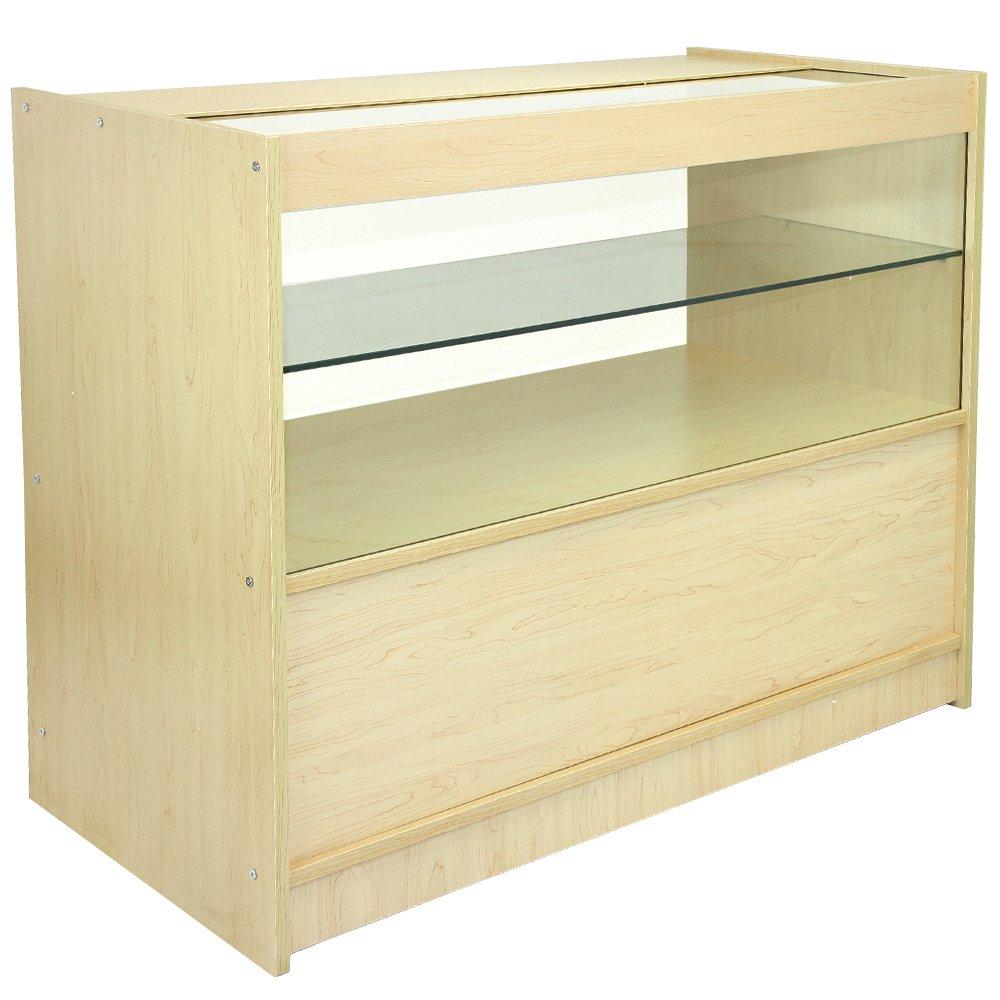 MonsterShop C1200 Shop Counter Glass Retail Showcase Display ...