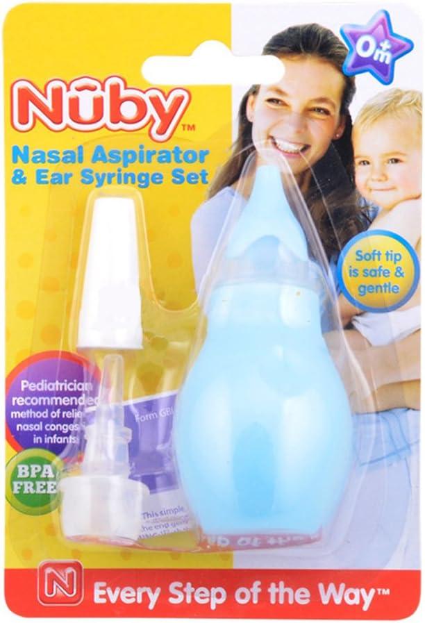 Nûby ID172 - Juego aspirador nasal jeringuilla oidos (surtido ...