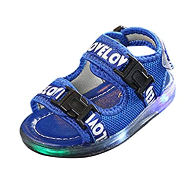 1dc66629411e Challen Led Sandals for 3-7.5 Years Old Boys❤