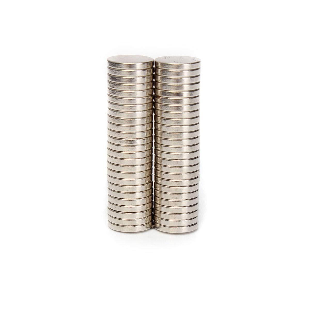 Neodym-Magnet 50pcs N50 12mm x 2mm Erde Neodym-Magneten Starke Runde Magnete Seltene