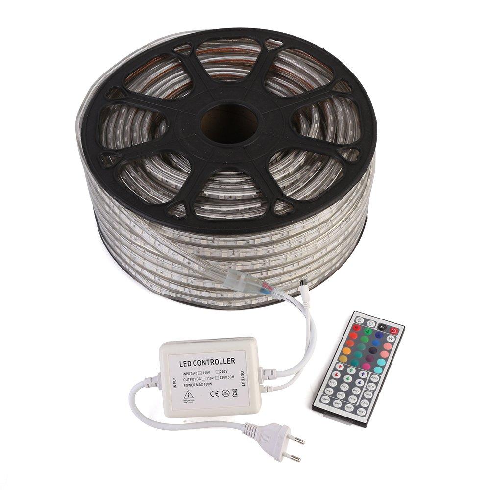 GreenSun LED Lighting Flexible 50M 60LEDs / m 5050 SMD RGB strip mit ...