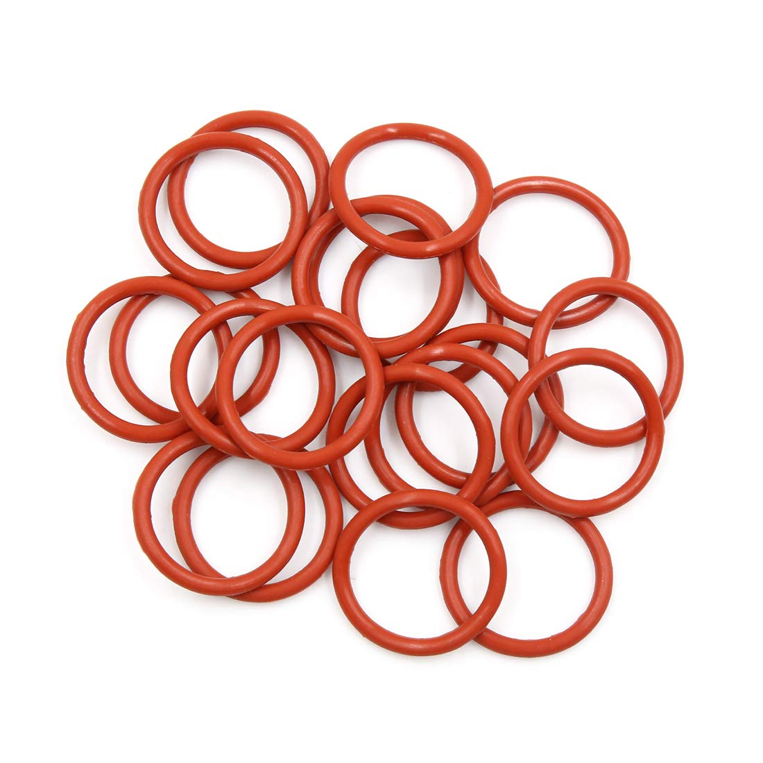X AUTOHAUX 10pcs White Silicone Rubber O-Ring VMQ Seal Gasket Washer for Car 70mm x 3.1mm