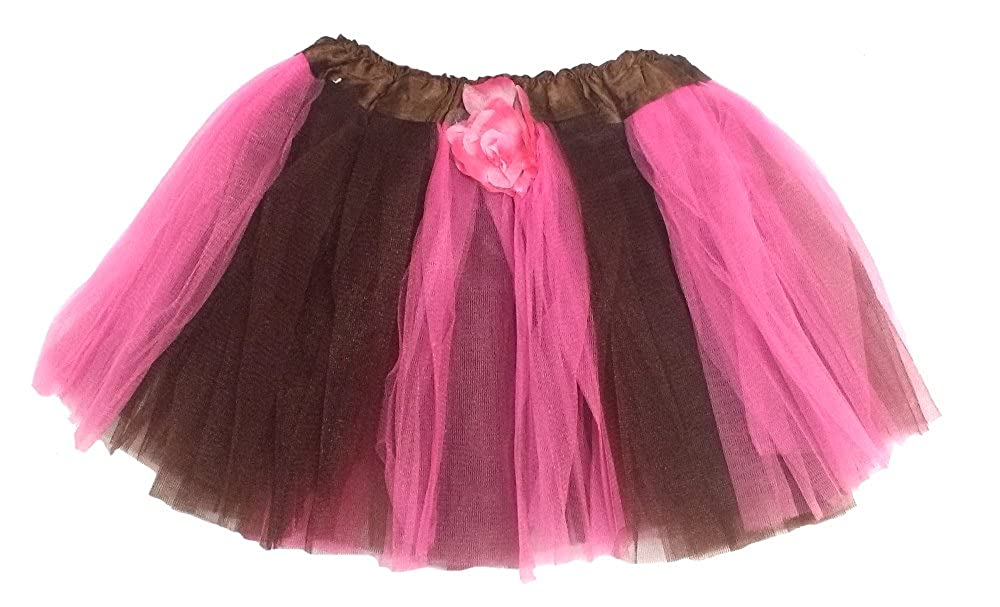 Pixie Wings Tutu 4-10 Fairytale Play Pink with Rosebud Halo Enchantly Girls Fairy Costume Brown Wand