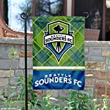 WinCraft Seattle Sounders Double Sided Garden Flag