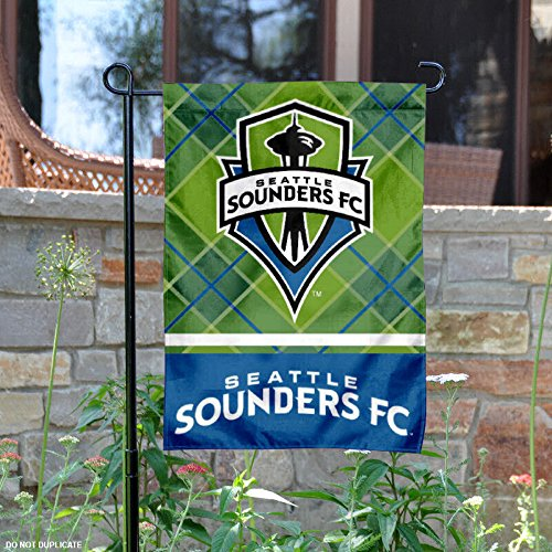 WinCraft Seattle Sounders Double Sided Garden Flag by WinCraft