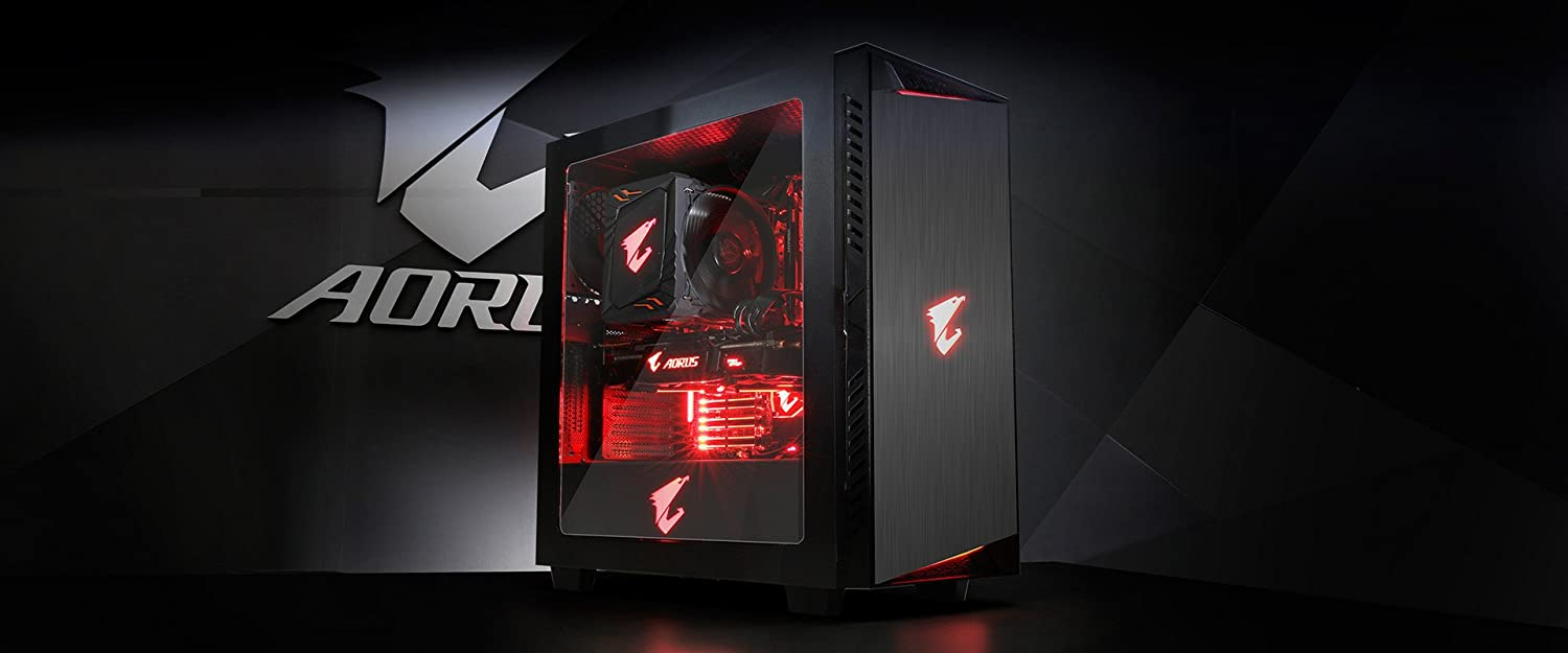 AORUS Gigabyte Aorus Liquid Cooled Intel 6-Core i7-8700K 3.7GHz - Nvidia GeForce GTX 1080 TI 11GB GDDR5X - 2TB 7200RPM + 120GB SSD - 16GB DDR4 SDRAM - 750W - Windows 10 Gaming Desktop