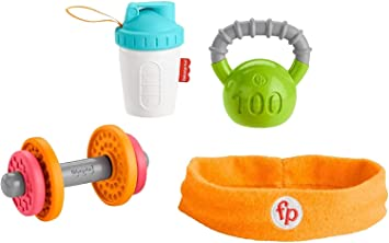 Fisher-Price- Conjunto de Regalo Baby Biceps (Mattel GJD49)